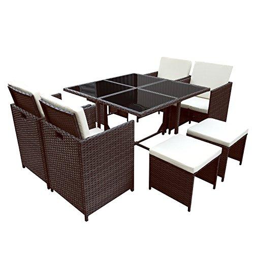 gem tliche rattan lounge. Black Bedroom Furniture Sets. Home Design Ideas