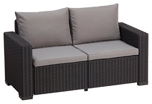 Allibert California 2 Sitzer, graphit/cool grey