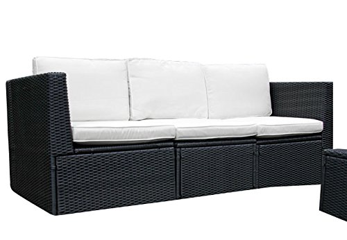 Rattan sofa indoor outdoor - Gartenmobel sitzgruppe rattan lounge ...