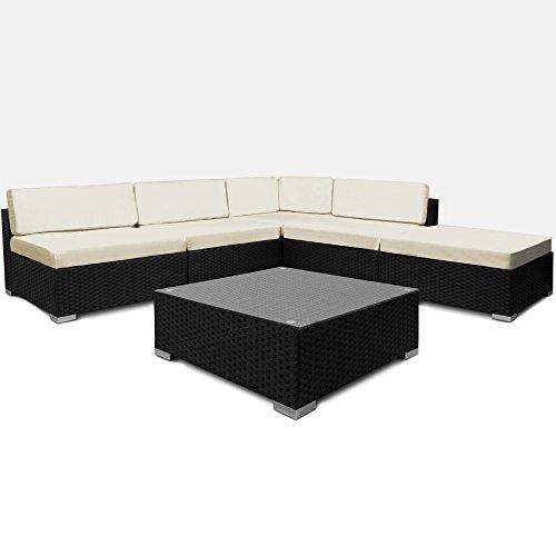 rattan lounge set g nstig kaufen. Black Bedroom Furniture Sets. Home Design Ideas