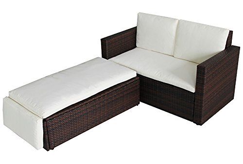 rattan lounge set g nstig kaufen. Black Bedroom Furniture Sets. Home Design Ideas
