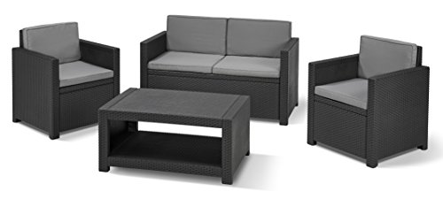 rattan gartenm bel set. Black Bedroom Furniture Sets. Home Design Ideas