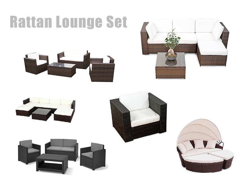 Rattan lounge set g nstig kaufen for Lounge set rattan gunstig